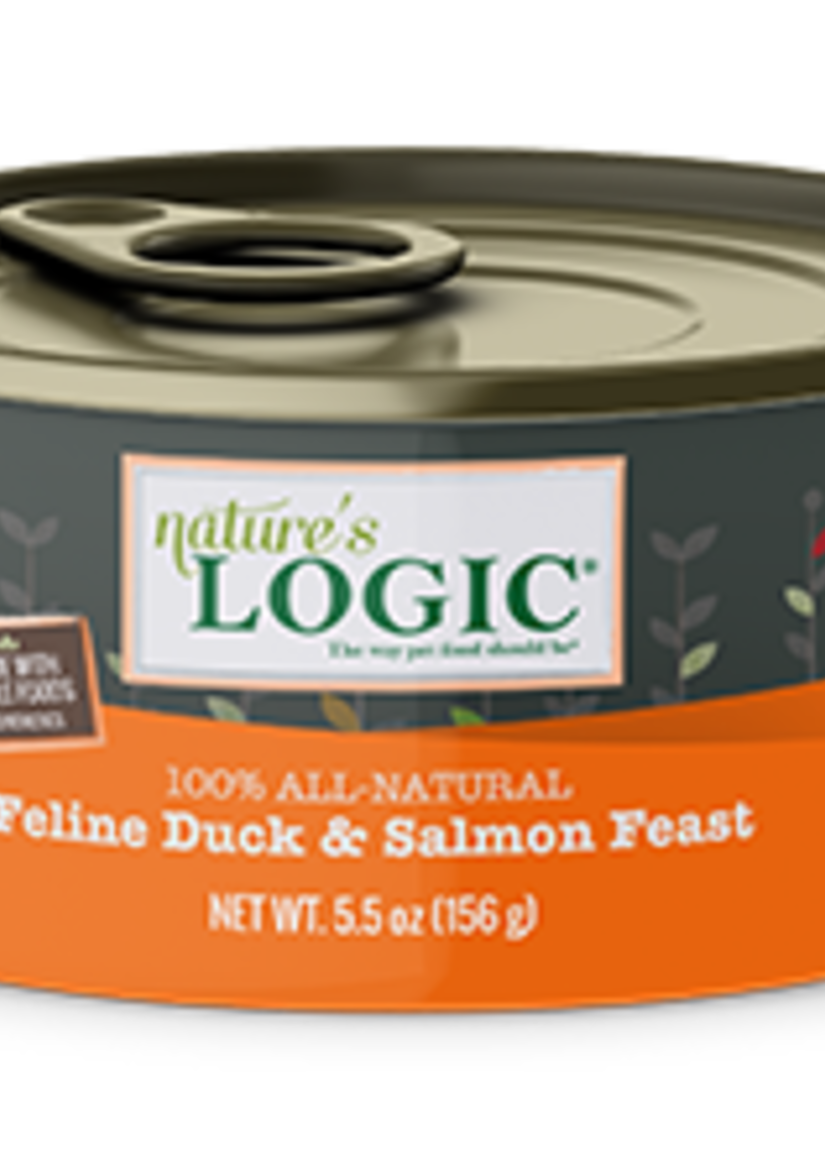 Nature's Logic Nature's Logic Duck/Salmon Cat 5.5 oz