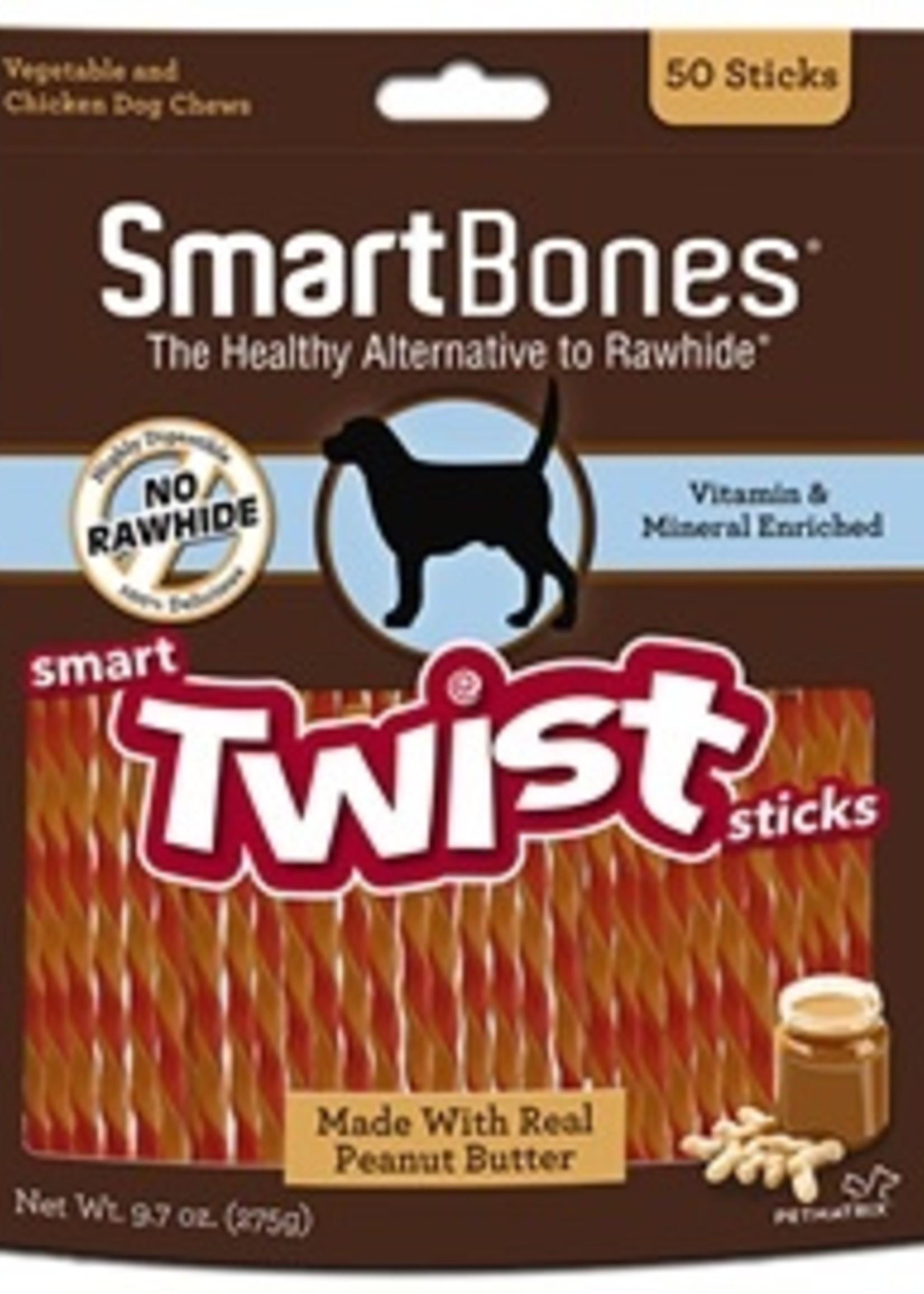 SmartBones Smartbones Peanut Butter 50 Sticks