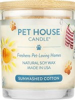 Pet House Candle Pet House Candle Sunwashed Cotton