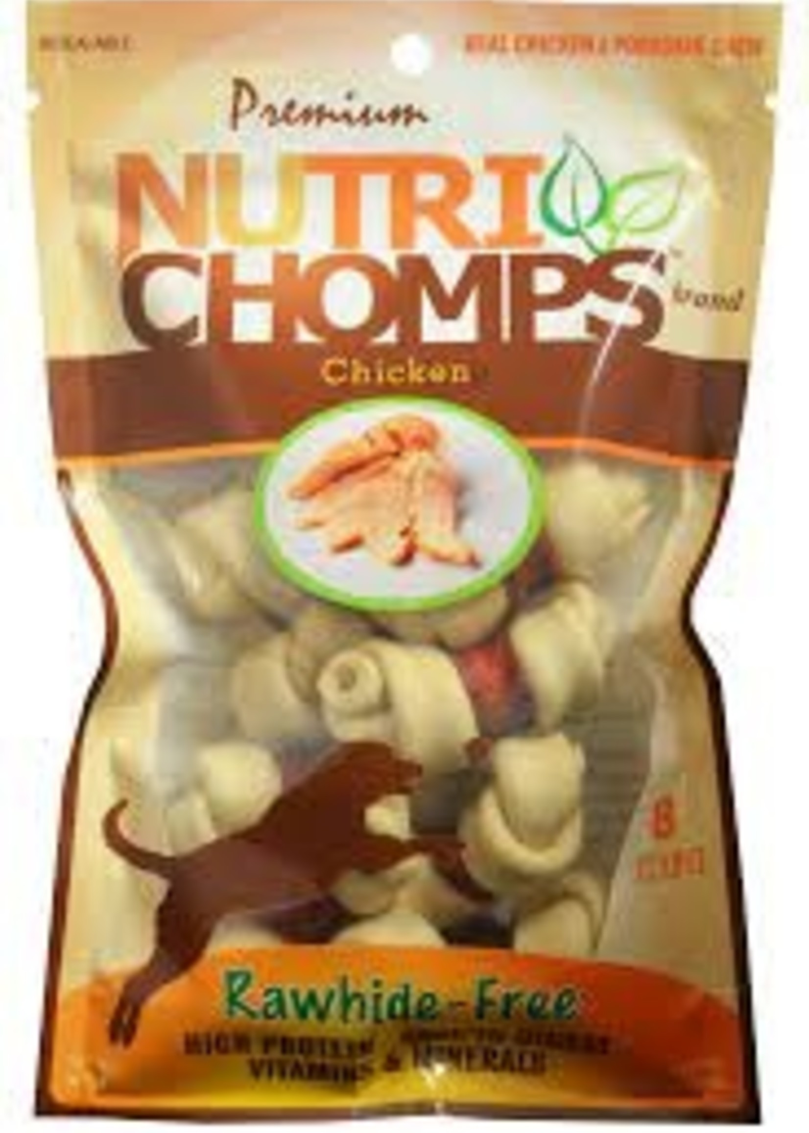 Nutri Chomp Nutri Chomps Advanced Chicken Knot Wrap 8 ct
