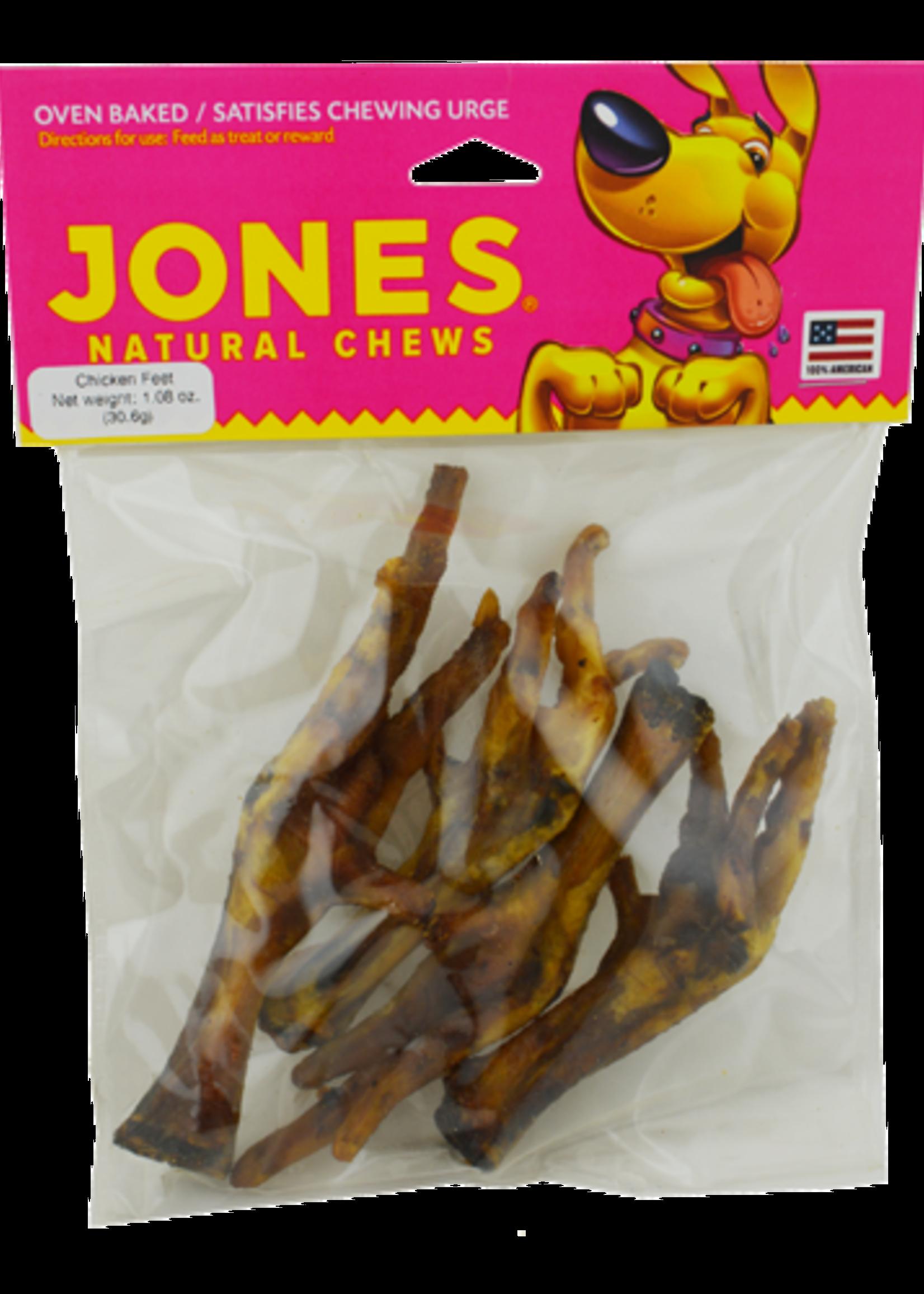 Jones Natural Chews Jones Natural Chews Chicken Feet