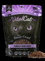 Vital Essentials Vital Cat Freeze Dried Turkey Mini Nibs 12 oz