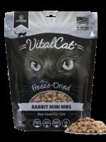 Vital Essentials Vital Cat Freeze Dried Rabbit Mini Nibs 12 oz