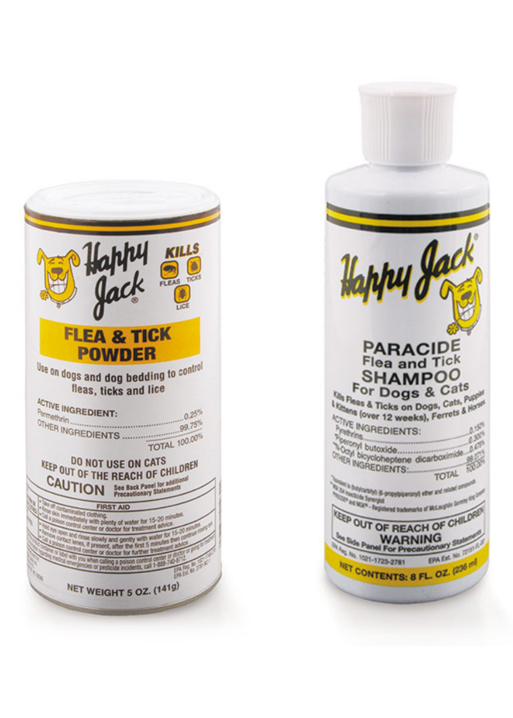Happy Jack Happy Jack Paracide Shampoo & Powder Bundle