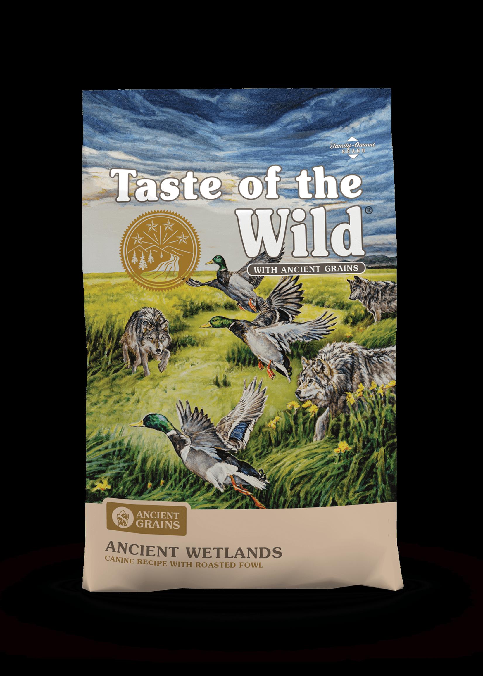 Taste of the Wild Taste of the Wild Ancient Wetlands 28lbs