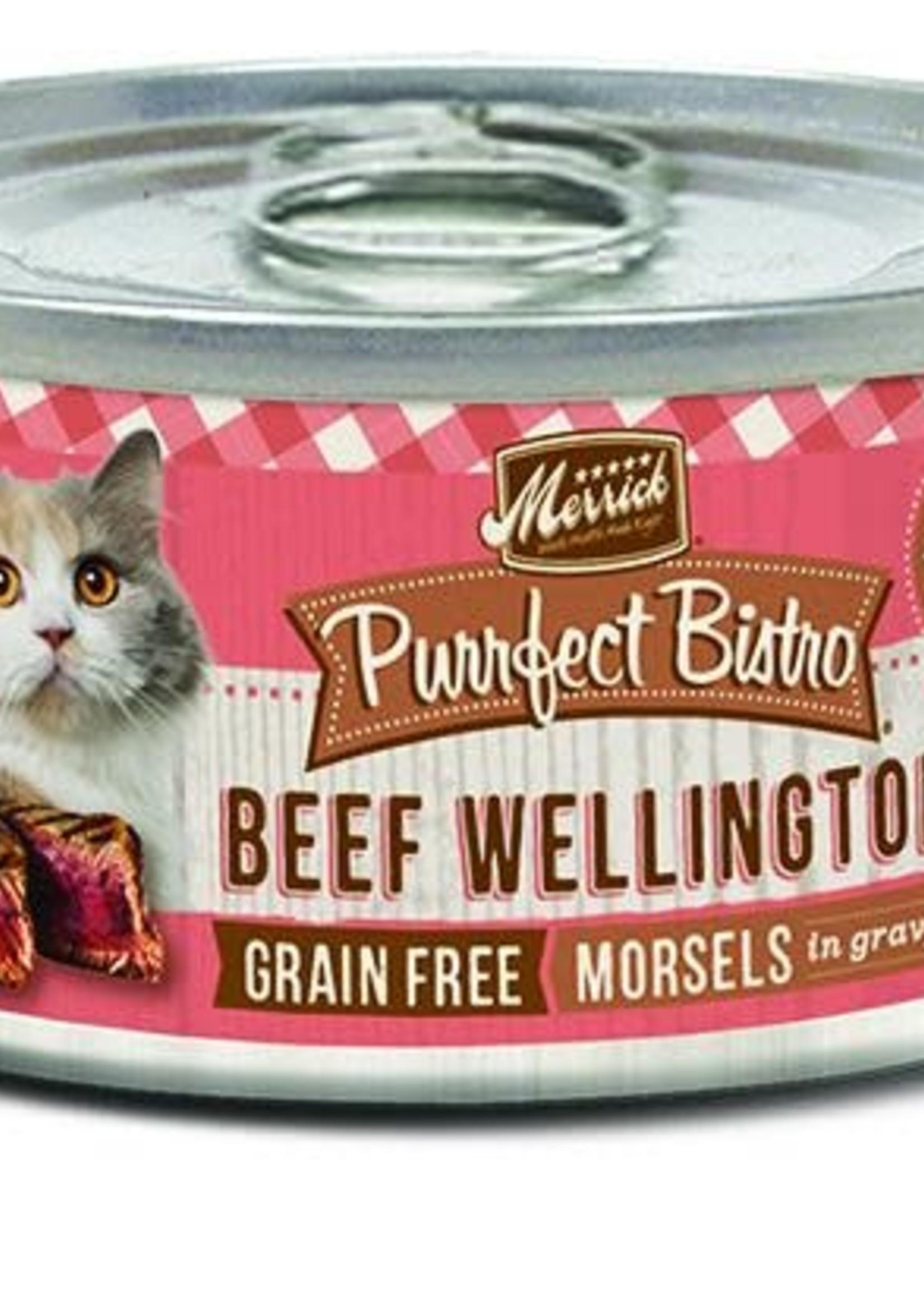 Merrick Merrick Purrfect Bistro Beef Wellington 5.5oz