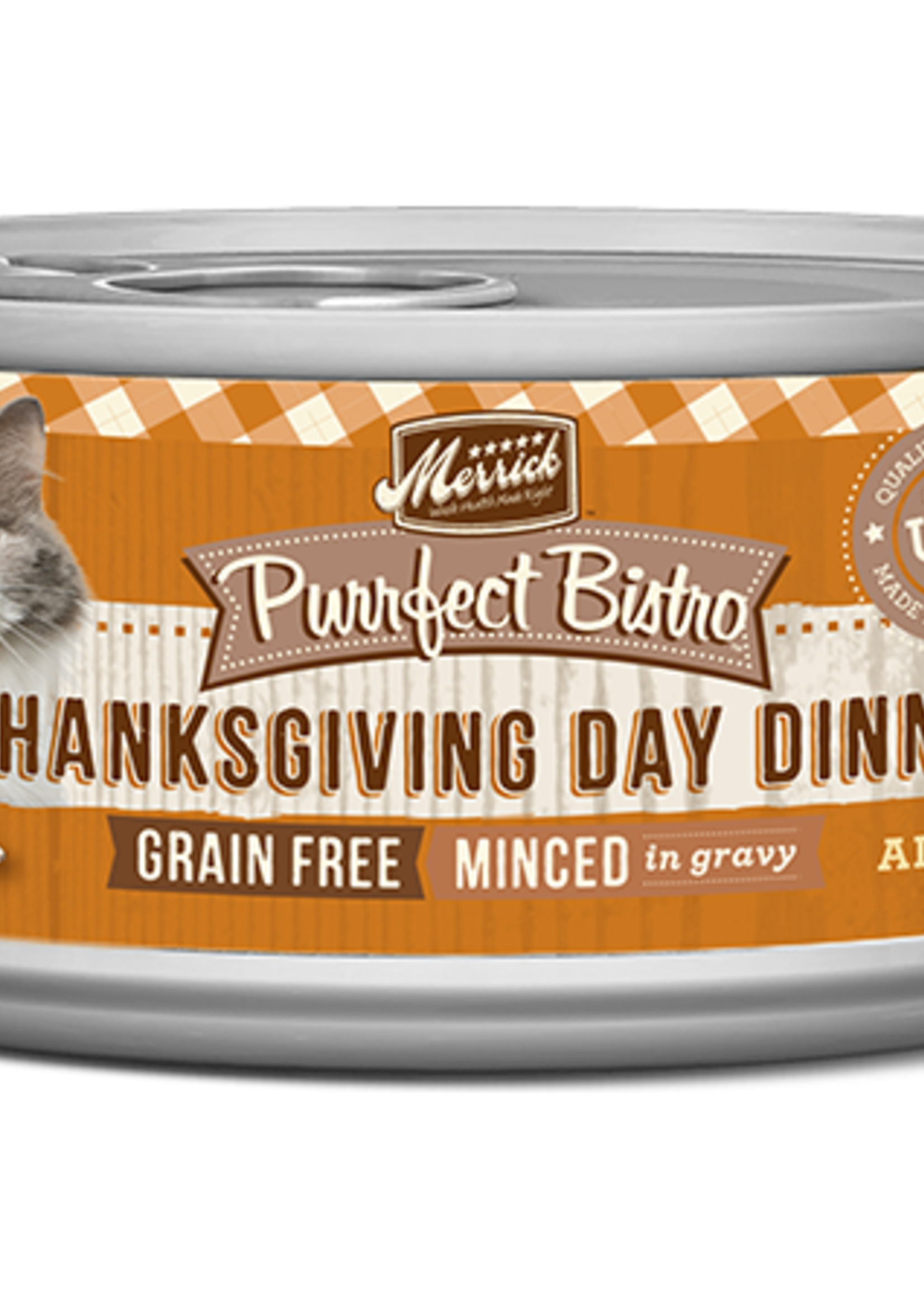 Merrick Merrick Purrfect Bistro Thanksgiving Day 5.5oz