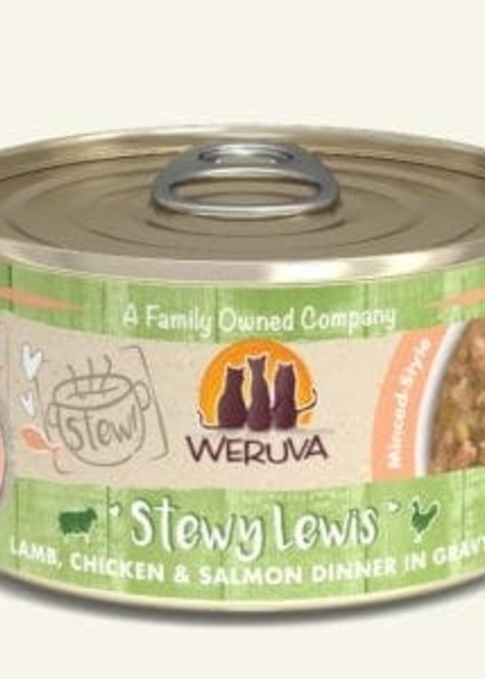 Weruva Weruva Classic Cat Stewy Lewis  Wet Cat Food 5.5oz