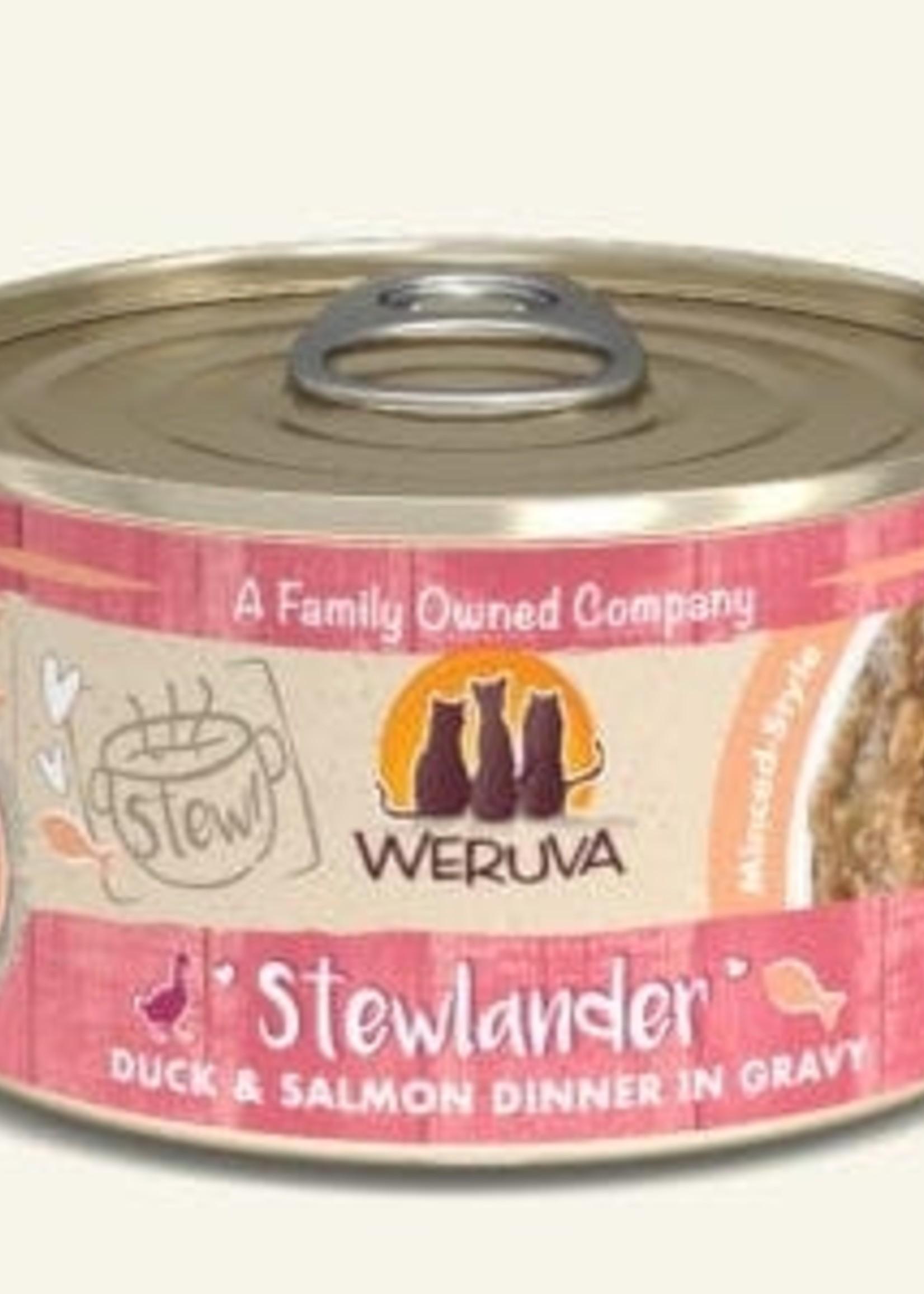 Weruva Weruva Classic Stewlander Duck & Salmon in Gravy 2.8oz