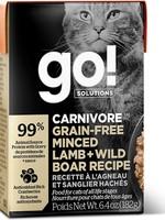 Petcurean Go! Sensitivities GF Minced Lamb + Wild Boar 6.4 oz