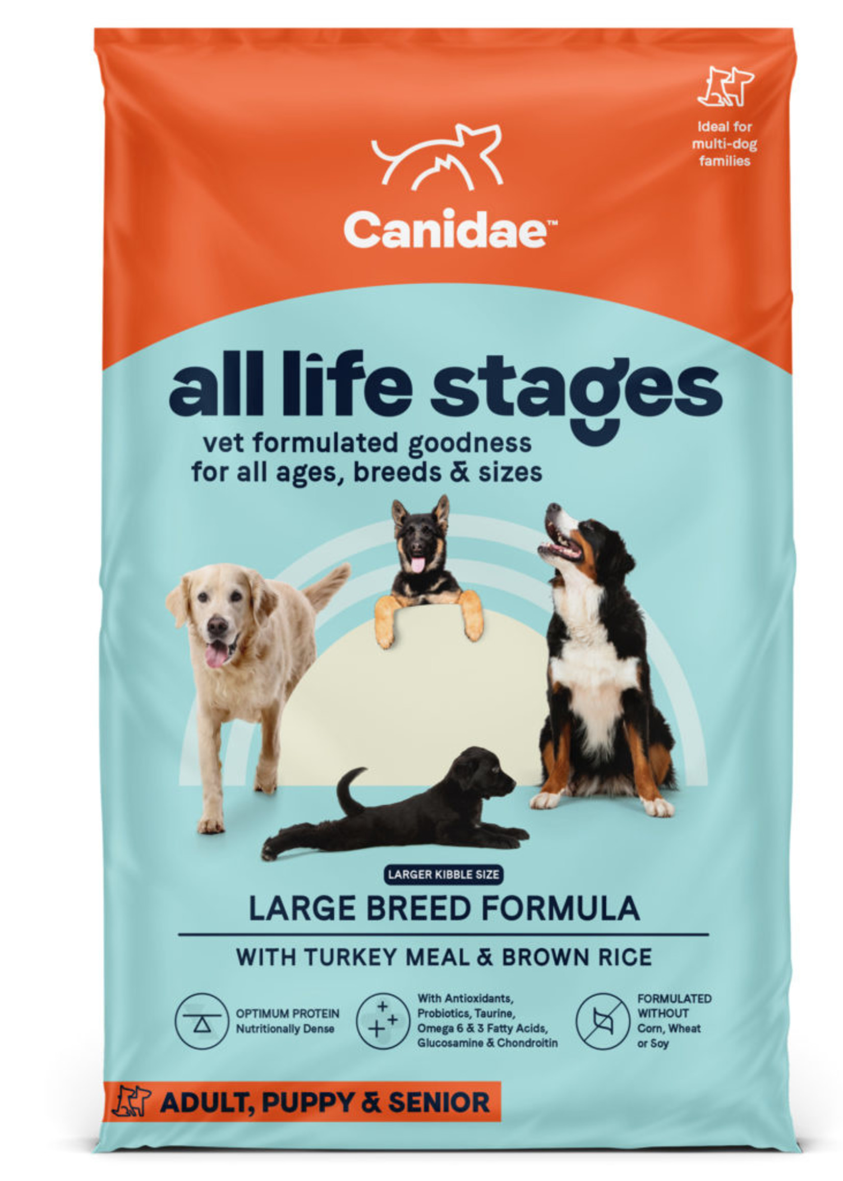 Canidae Canidae ALS Large Breed Turkey 44 lb