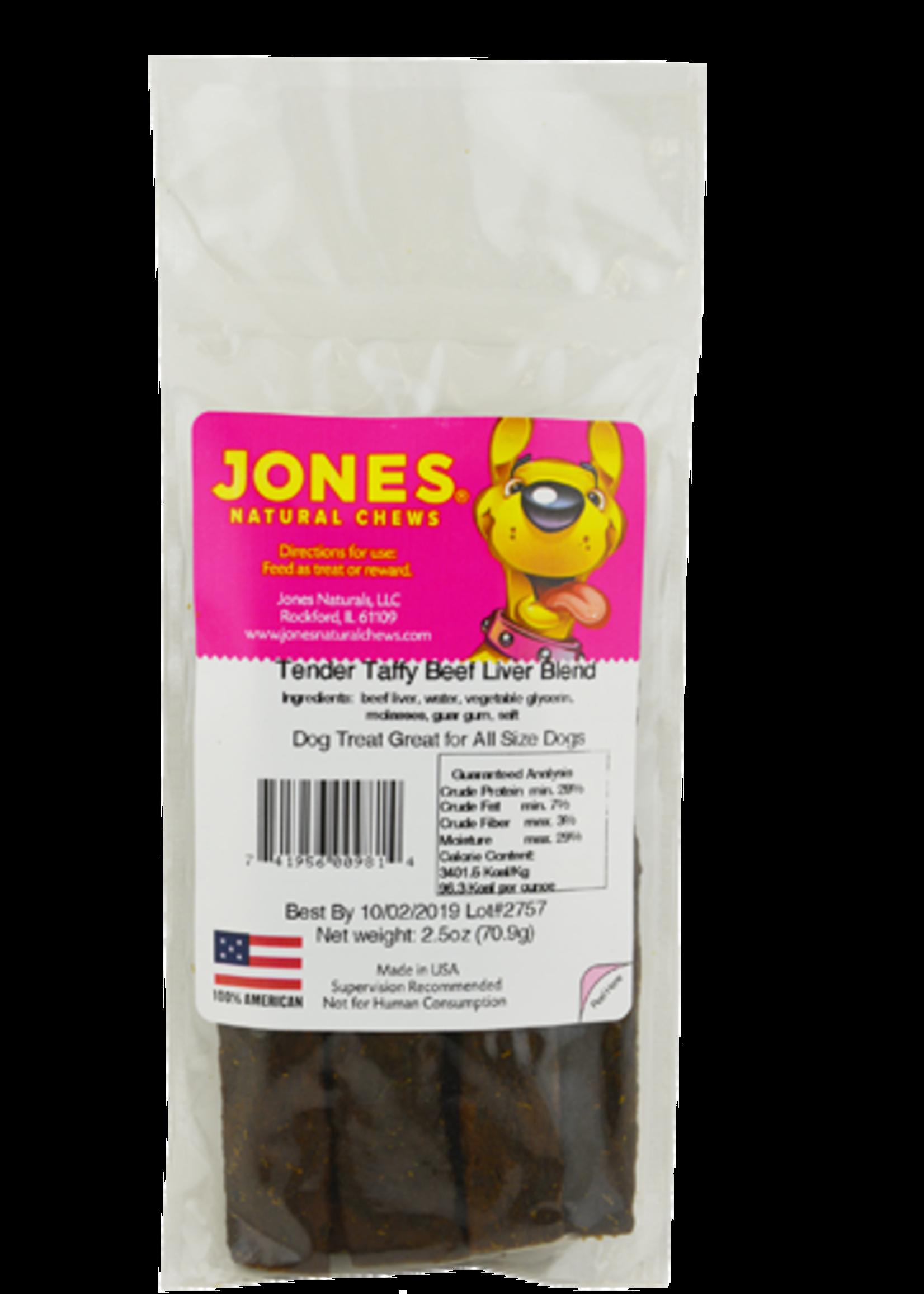 Jones Natural Chews Jones Natural Chews Tender Taffy Liver Blend