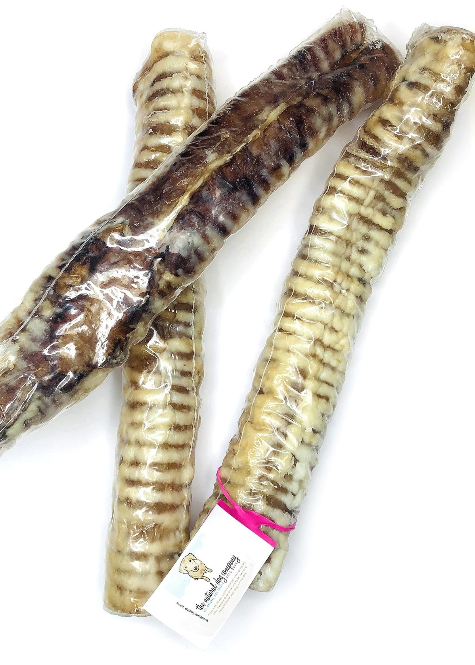 """The Natural Dog Company NDC 12"""" Beef Trachea Wrapped"""