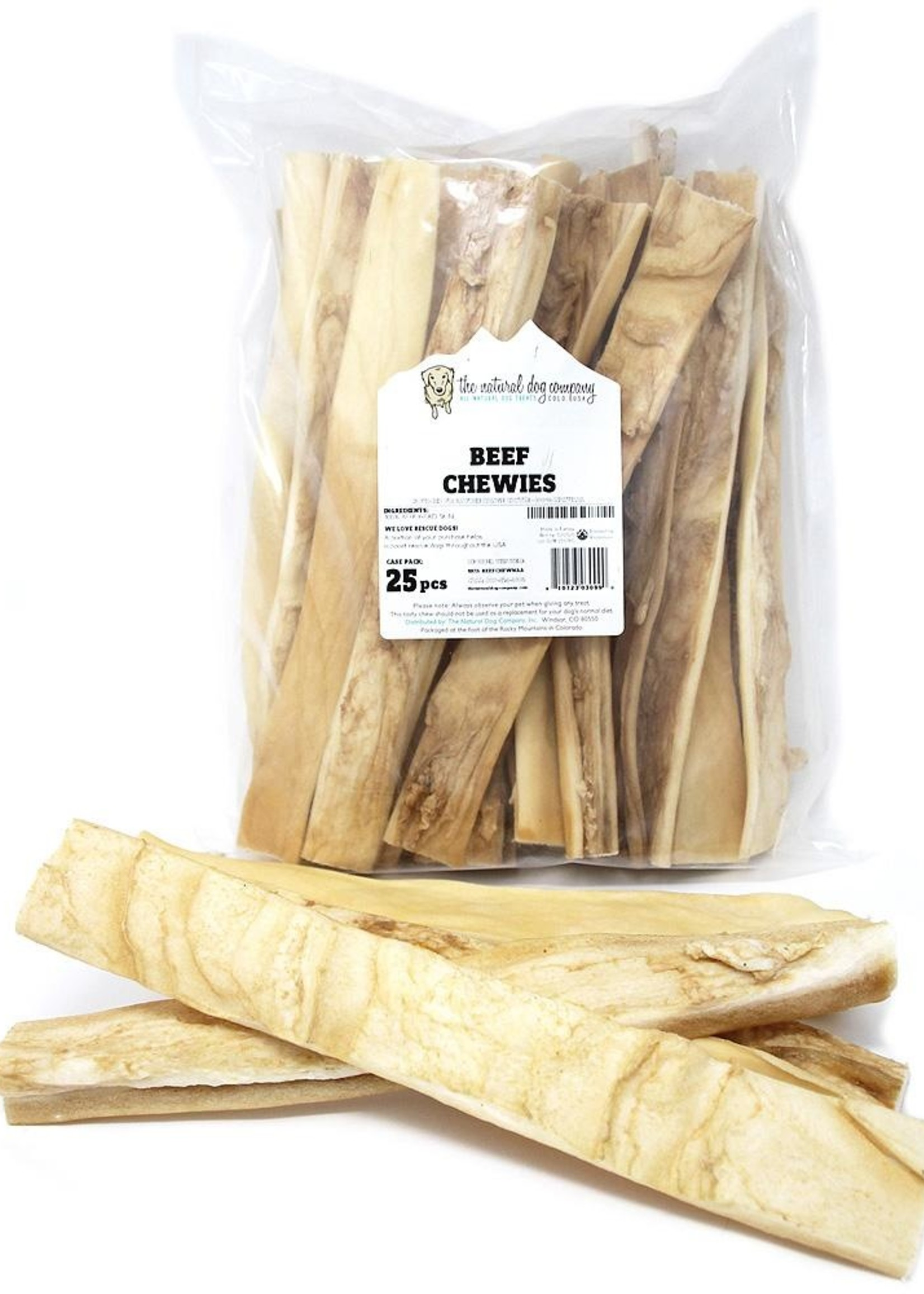The Natural Dog Company NDC Small Beef Chews