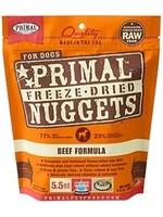 Primal Primal Dog Freeze Dried Beef Nugget 5.5 oz.