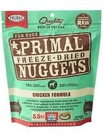 Primal Primal Dog Freeze Dried Chicken Nugget 5.5 oz.