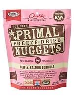 Primal Primal Cat Freeze Dried Beef & Salmon Nugget 5.5 oz.