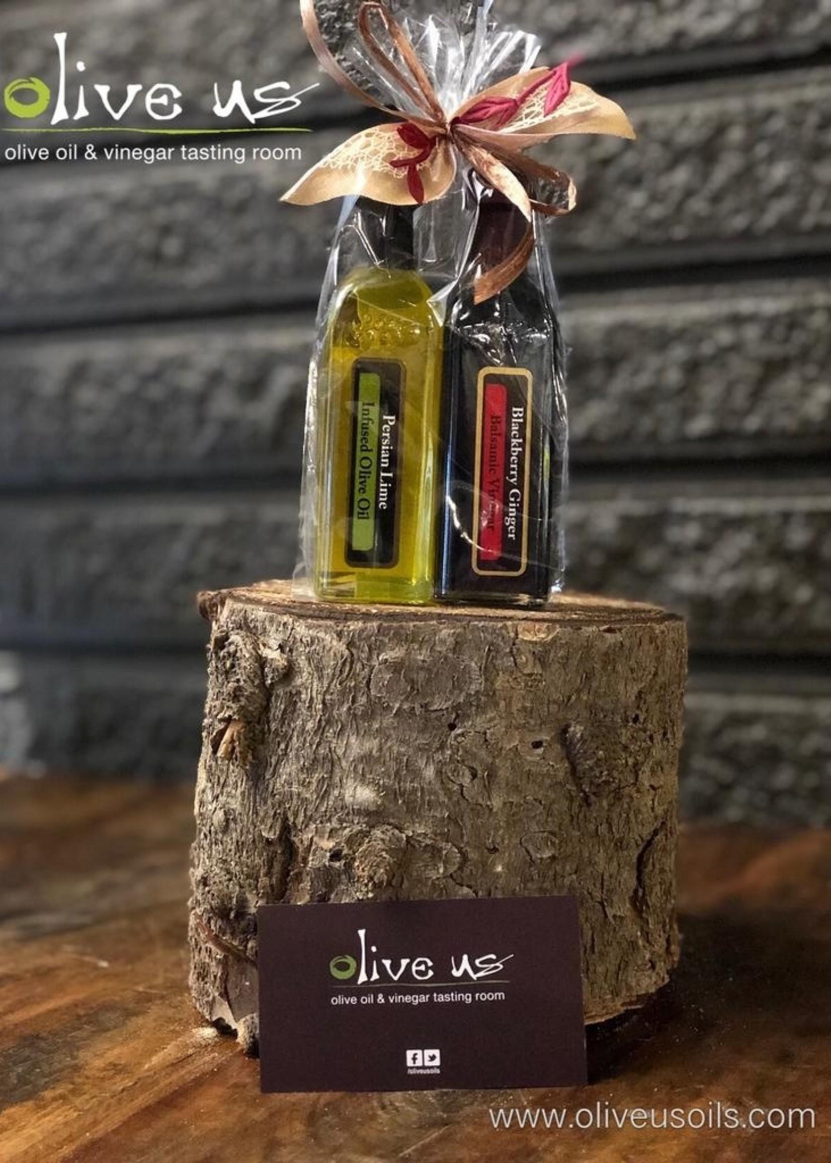 Olive Us 2Pack 60ml - Persian Lime & Blackberry ginger