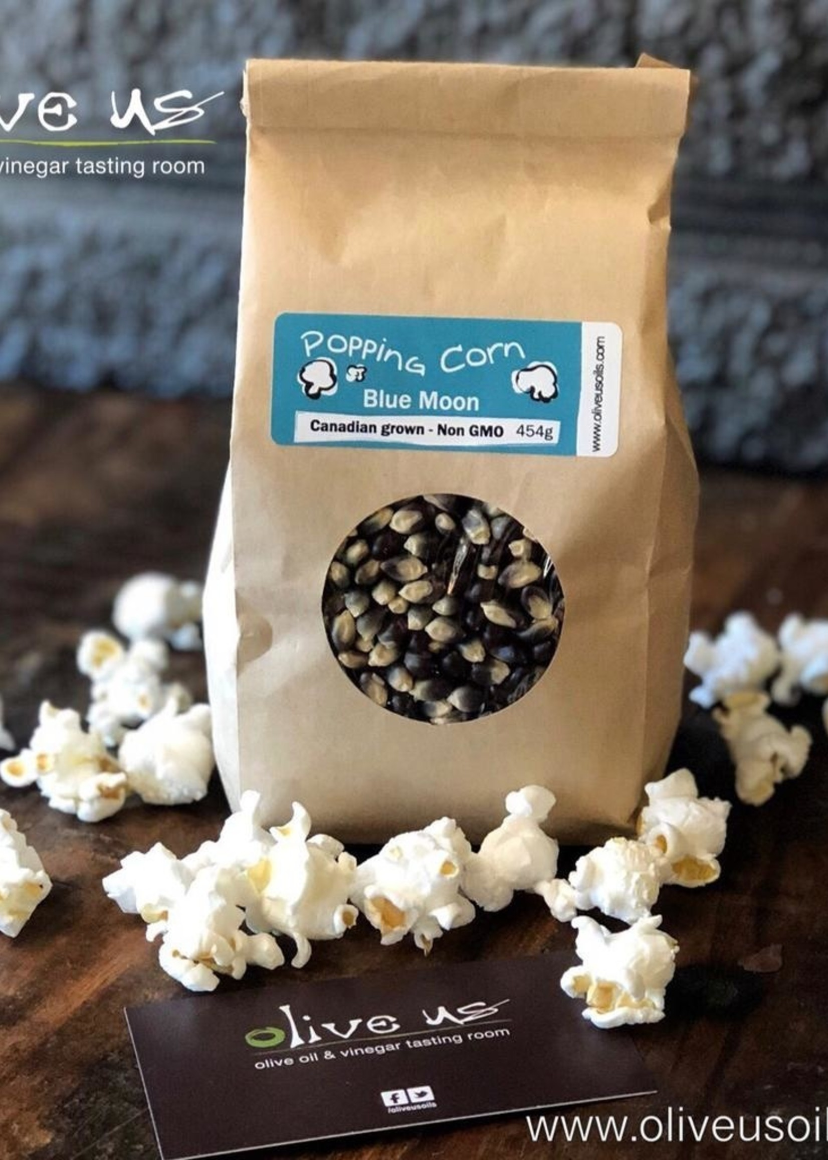 Olive Us Blue Moon Popping Corn 454g