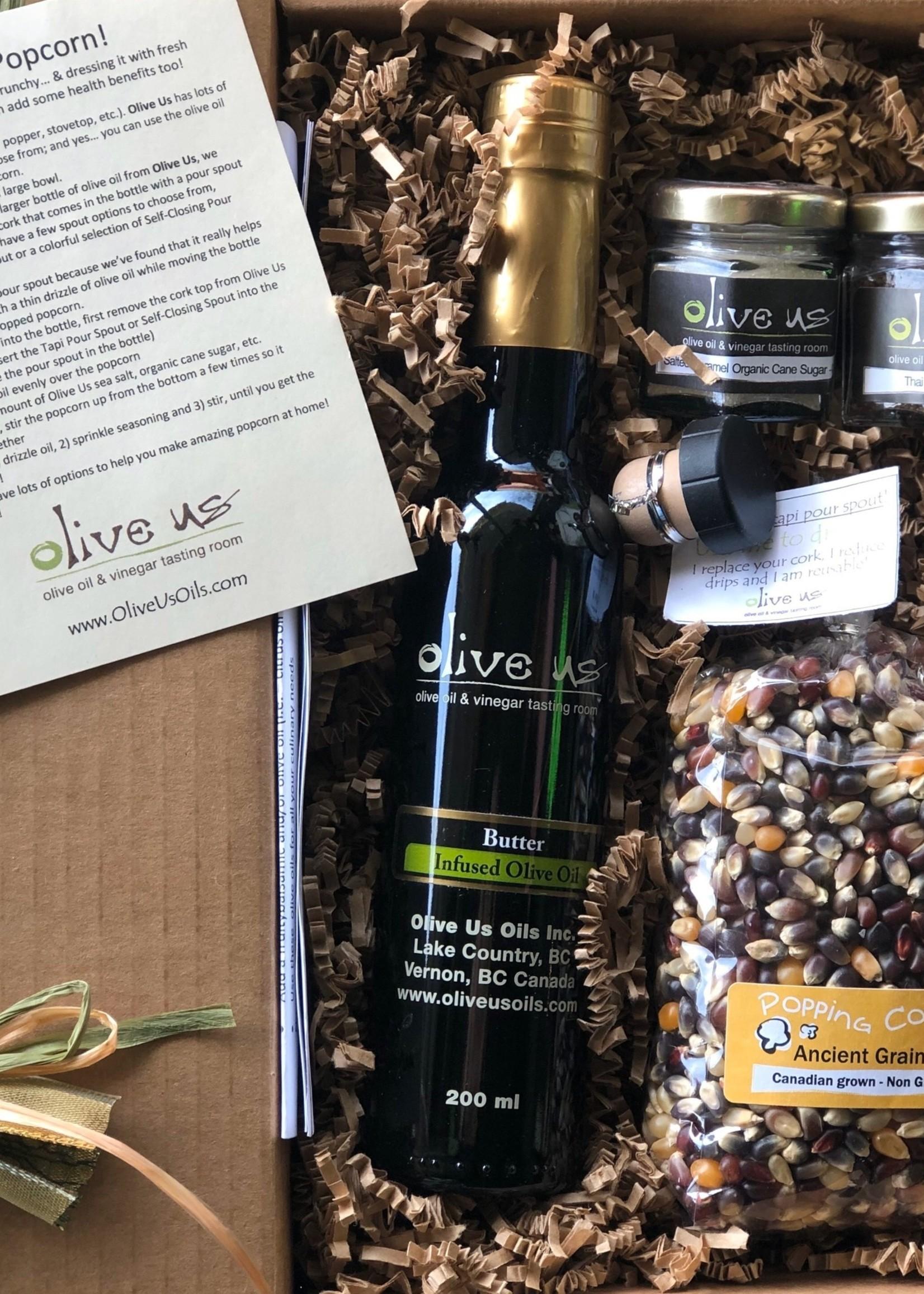 Olive Us Popcorn Snack Attack
