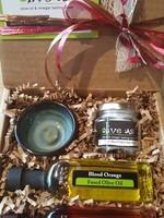 Olive Us Pinch Of Salt Oil & Vin Gift Set: Blood Orange & Cranberry Pear