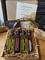 Olive Us Tuscan Sun 4 Pack 60ml - 2 Oil & 2 Vinegar