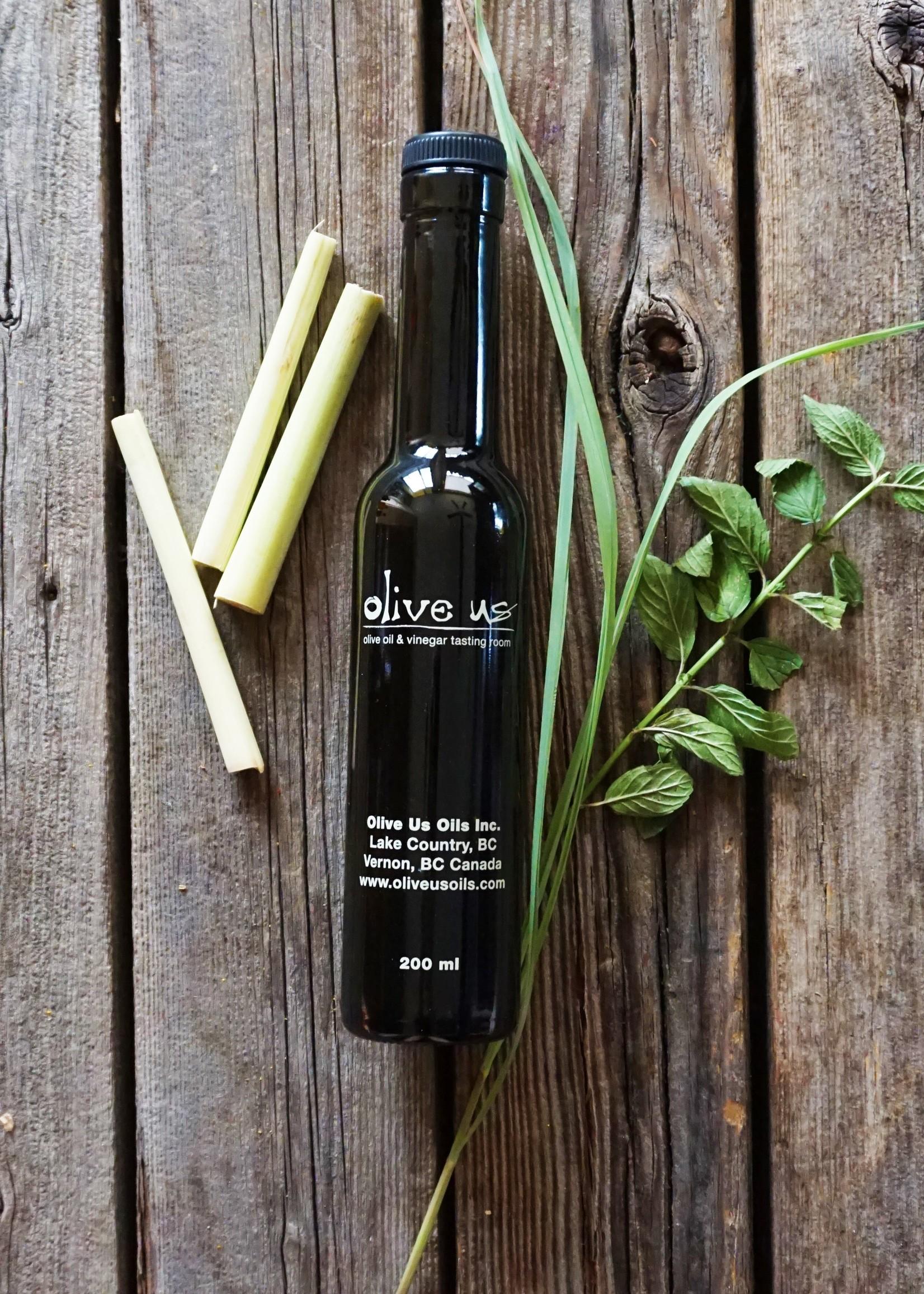 Olive Us Lemongrass Mint White Balsamic