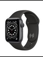 Apple Watch Series 6 44mm Sp Gray Alu Black Sport Band GPS