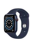 Apple Watch Series 6 40mm Blue Alu Deep Navy Sport Band GPS