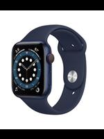 Apple Watch Series 6 44mm Blue Alu Dp Navy Sport Band GPS