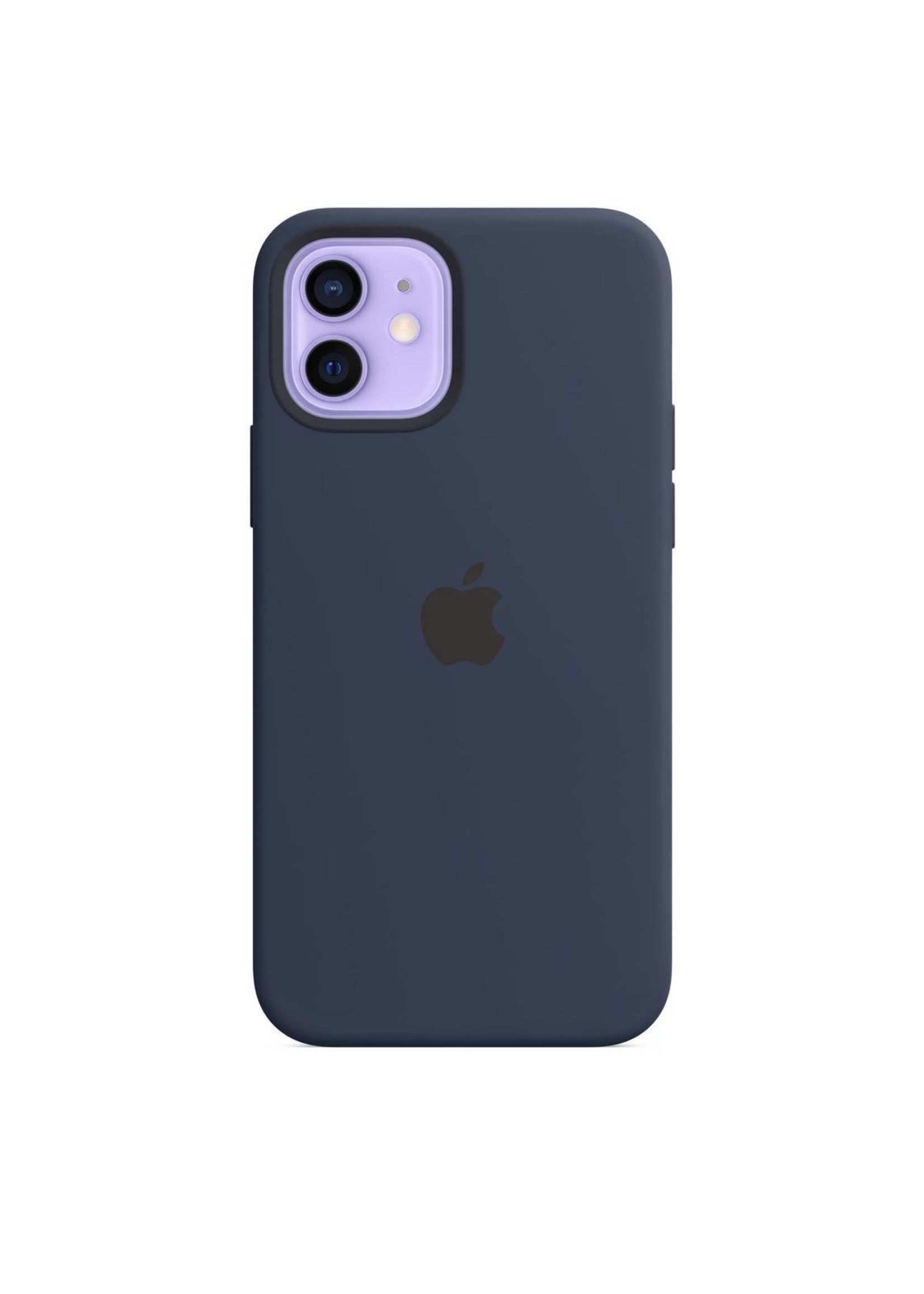 Apple iPhone 12/12 Pro Silicone Case Deep Navy