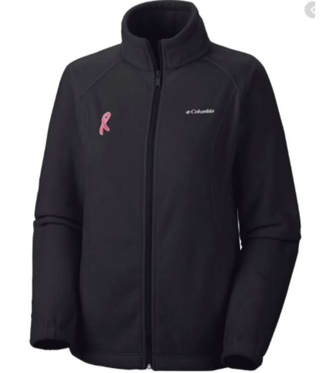Columbia W's Tested Tough in Pink Fleece Jacket