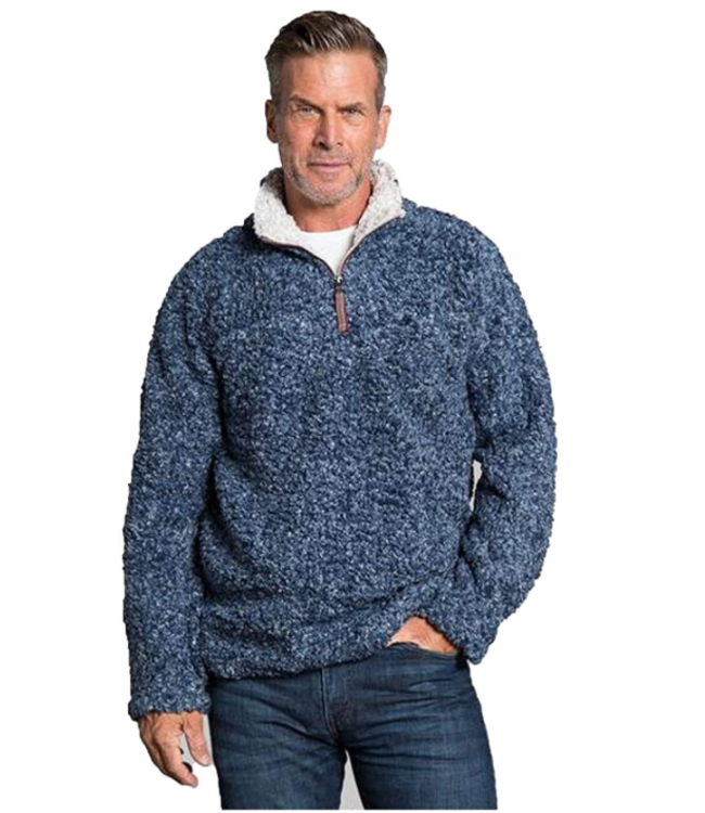 True Grit Softest Tip Shearling 1/4 Zip Pullover - P-94711
