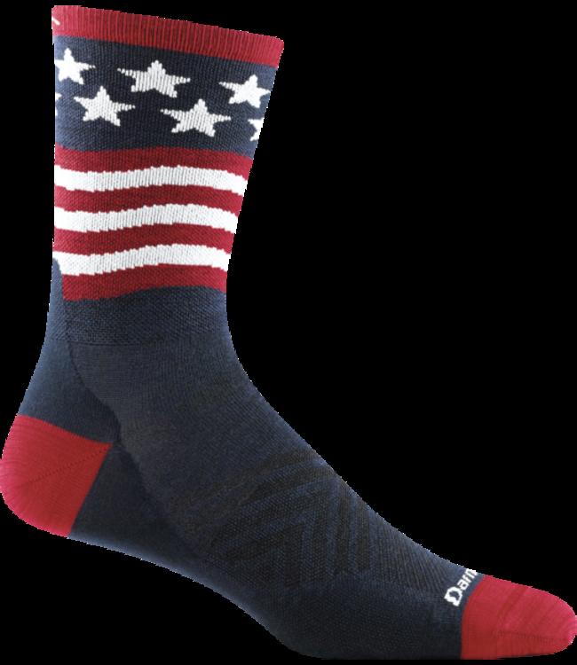 Darn Tough M's Patriot Micro Crew Ultra-Lightweight Running Socks