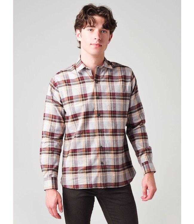 DUCKHEAD M's Hoffman Plaid Flannel Shirt