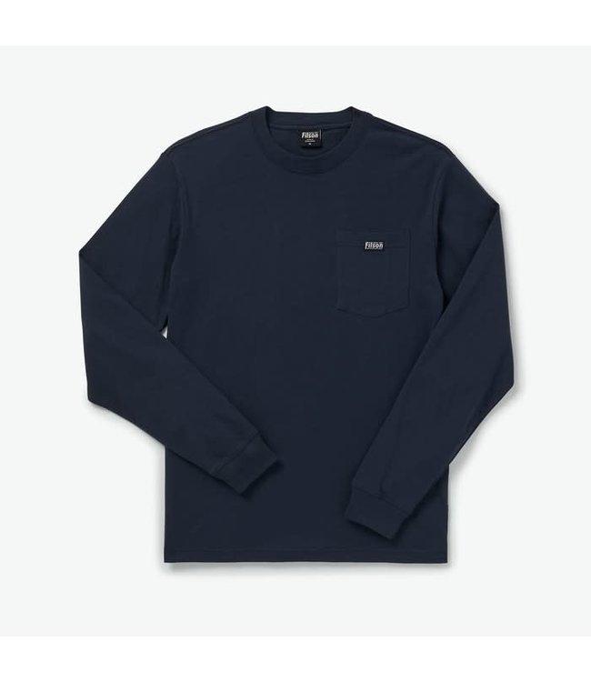 Filson M's L/S Sleeve Ranger Pocket T-Shirt