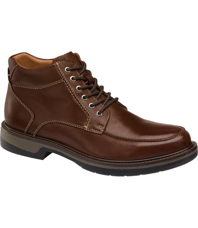 Johnston & Murphy M's Rutledge Moc Toe WP Leather Boot