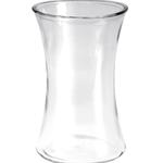 "8""x4.5""x4.5"" High Clear Gathering Vase"
