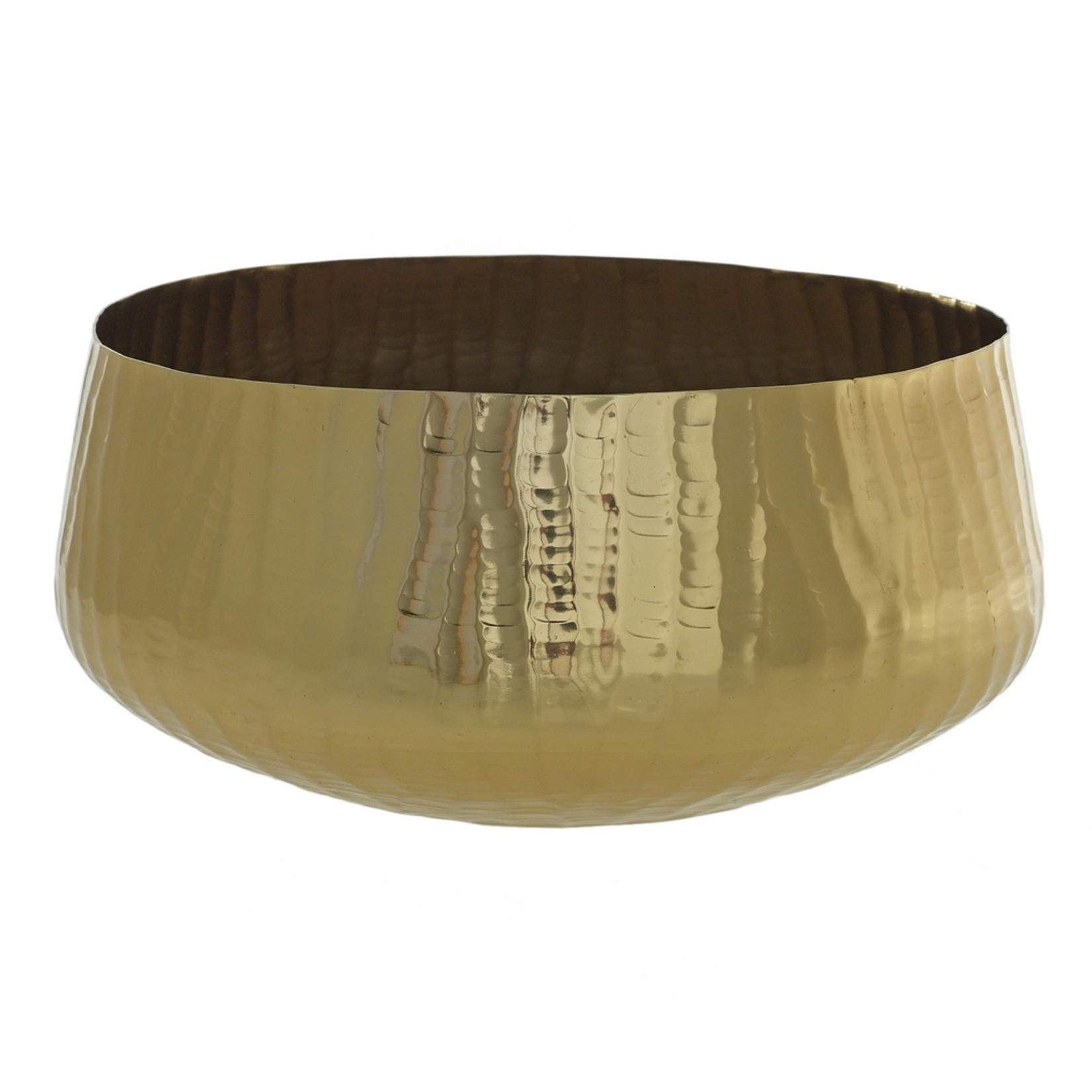 "16.5""x 8"" Gold Roberi Bowl (AD)"