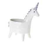 "5.75""x 3""x 7""h Lolly Unicorn Planter(AD)"