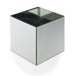 "12"" x 12"" x 12"" Mirror Cube VASE/PEDESTAL(AD)"
