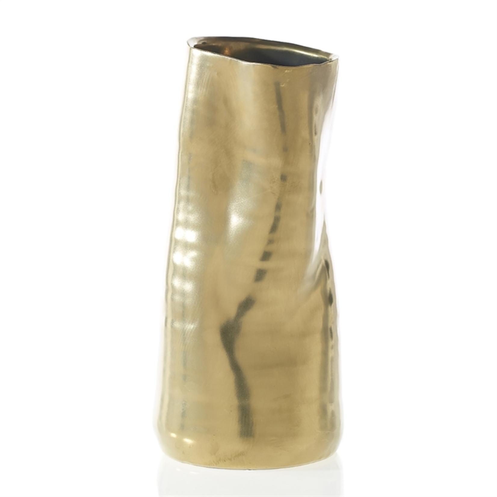 4.25'' x 9'' GOLD Tegan Pot and Vase (AD)
