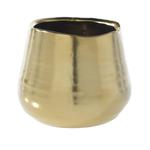 3.25'' x 3'' GOLD Tegan Pot and Vase (AD)