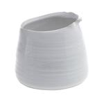 5.5'' x 4.5'' WHITE Tegan Pot and Vase (AD)