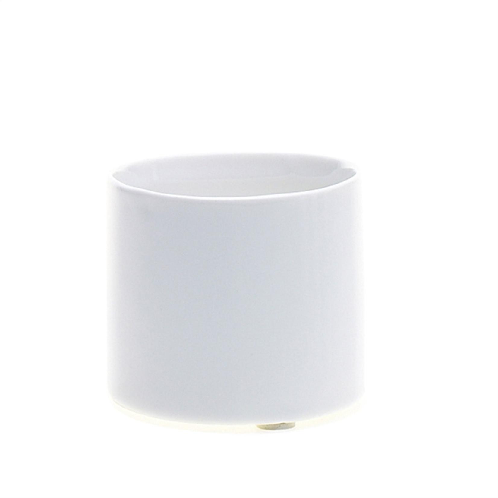 2.5'' X 2.5'' WHITE Brooklyn Vase (AD)