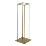 """29.5"""" X8"""" X 8"""" GOLD HARLOW STAND (AD)"""