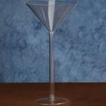18'' PLASTIC MARTINI GLASS
