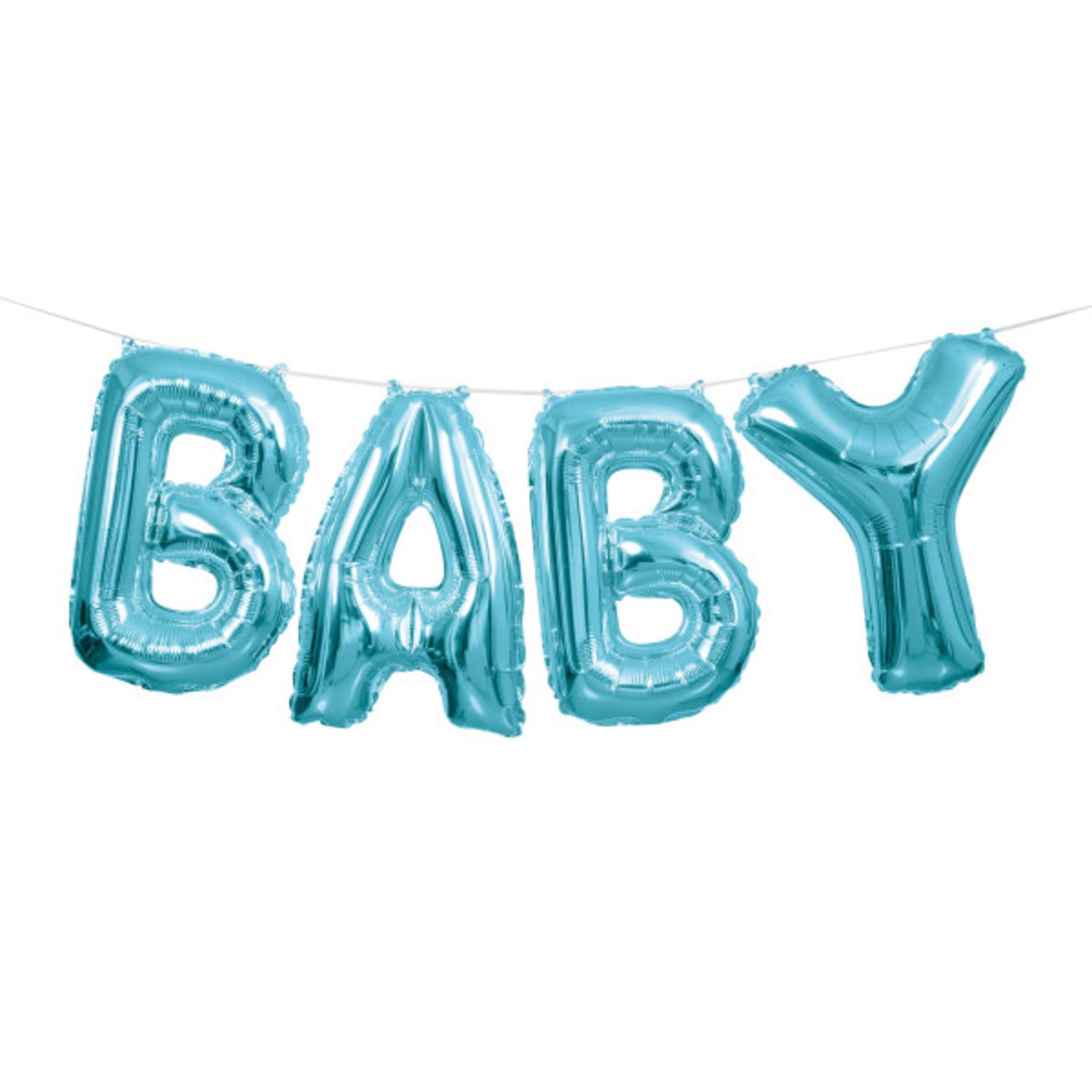 """14"""" BLUE BABY LTR BLN BNR KIT"""