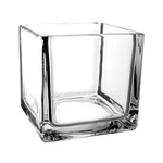 """6""""X6""""X6""""  GLASS CUBE BOX CAN BE MARKED 1666(6) or M666(6) or MG666(6)"""