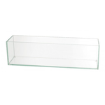 """4""""H X 4""""W X12""""L LOW RECTANGLE PLATE GLASS"""